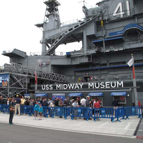 Visit a real aircraft carrier - the USS Midway