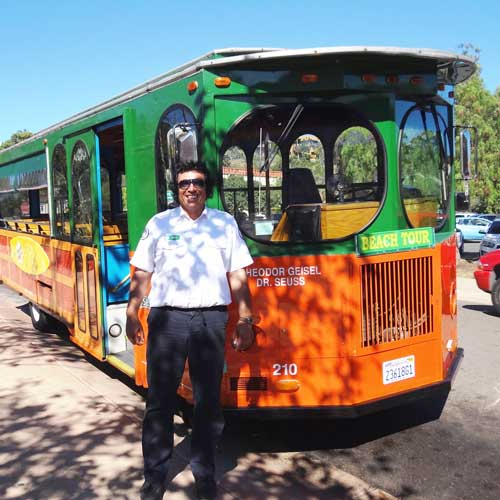 Old Town Trolley - don't be embarrassed!