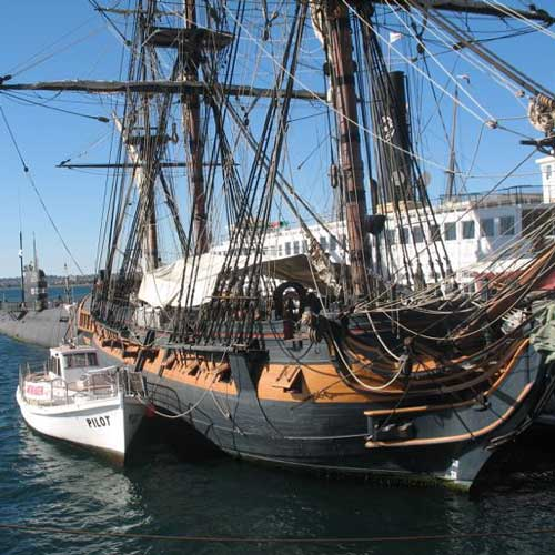 Real ships that sail at the Maritime Museum