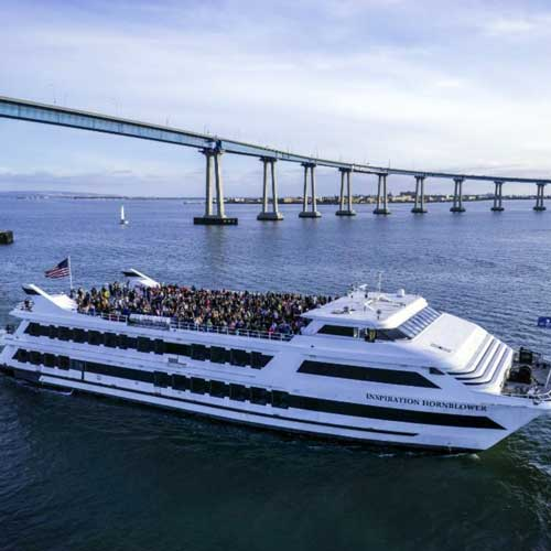 Cruise the San Diego Bay in style