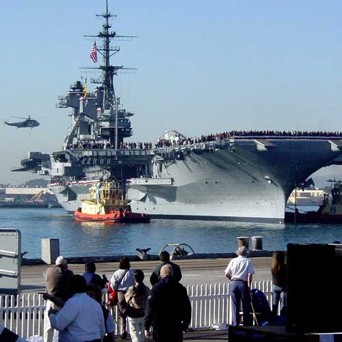 USS Midway is a fun self guided tour