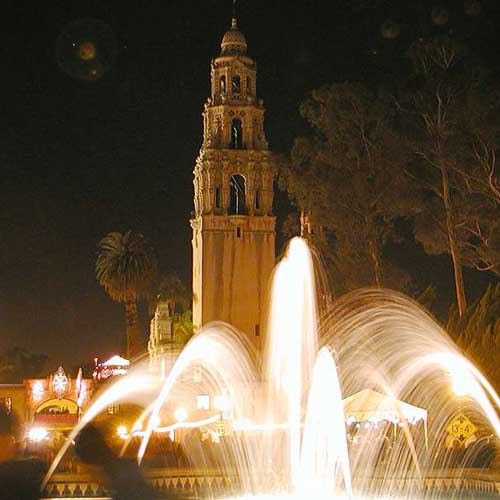 Beautiful architecture and landscaping awaits you at Balboa Park
