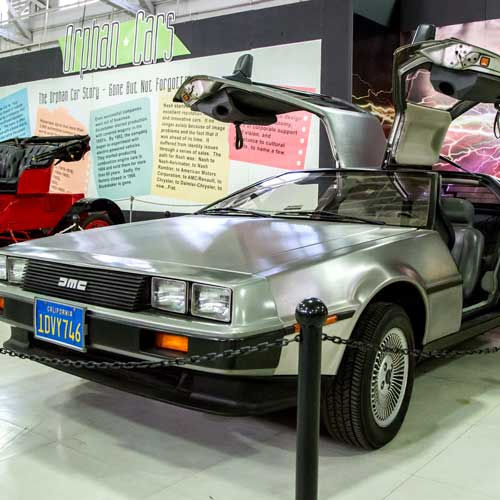 Back to the Future at the automotive museum