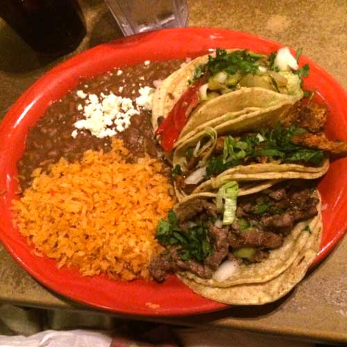 Killer carne asada at Ponce's