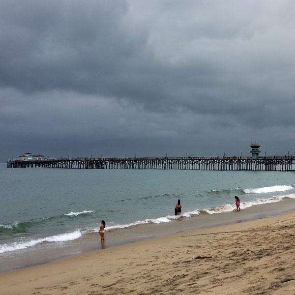 June Gloom strikes again like clockwork in San Diego.