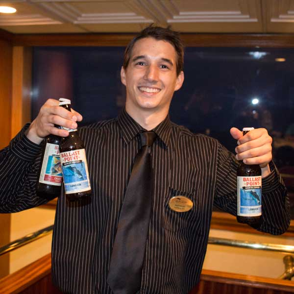 Lots of cool events like their Friday night Hops on the Harbor cruise.