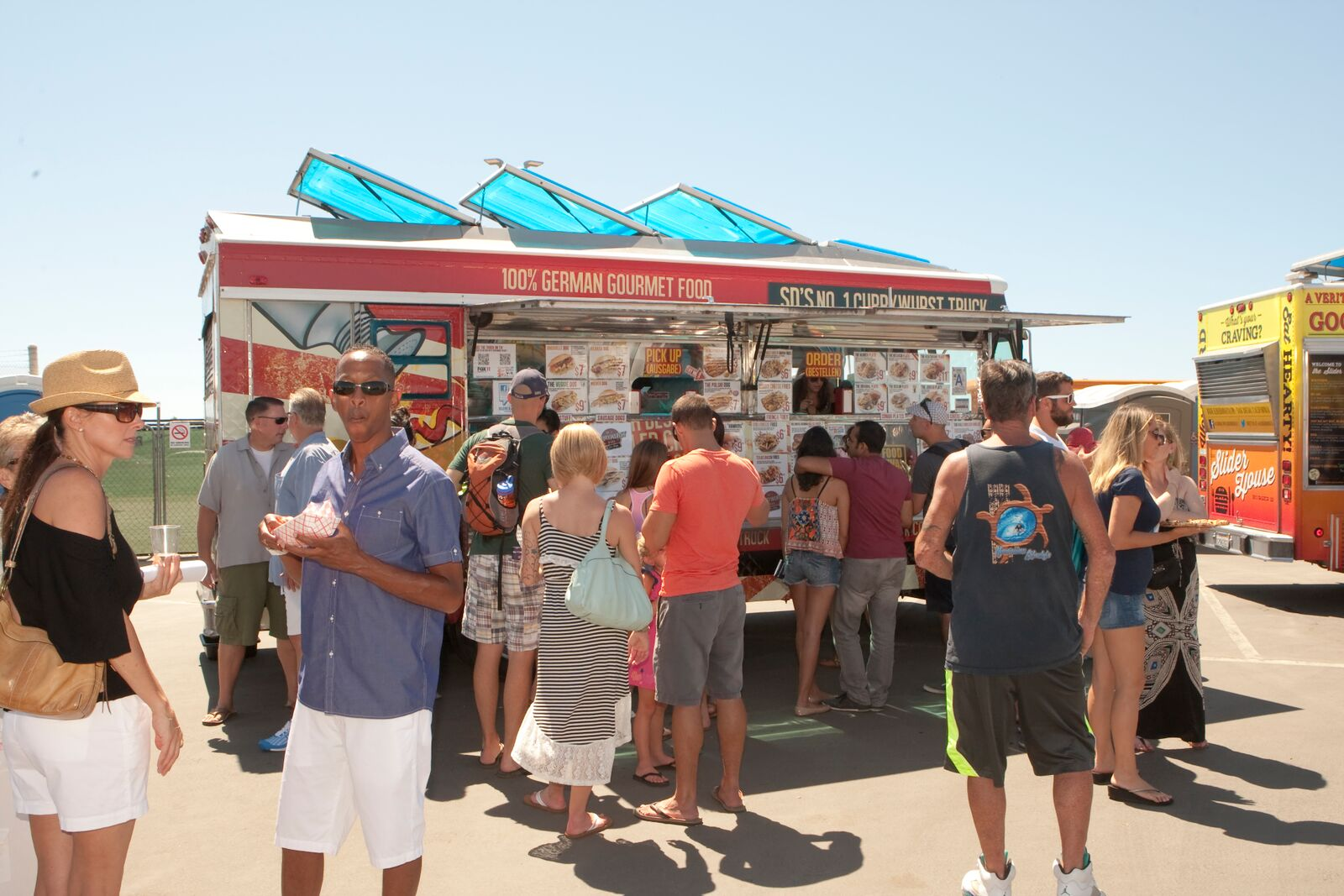 5th Annual Food Truck Festival at Del Mar Racetrack