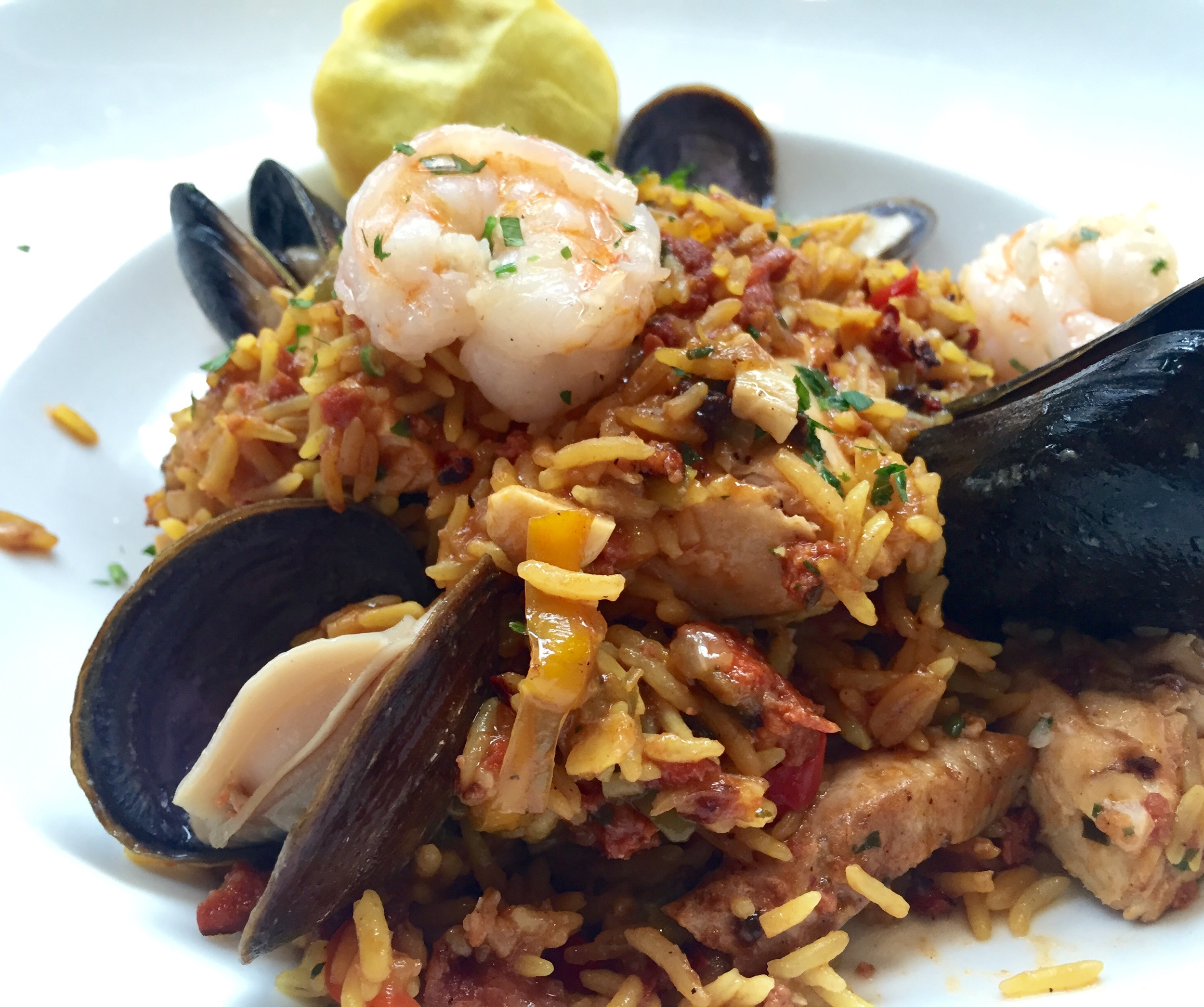 Paella is a hard dish to get right but Ironside Fish and Oyster does it very, very well.