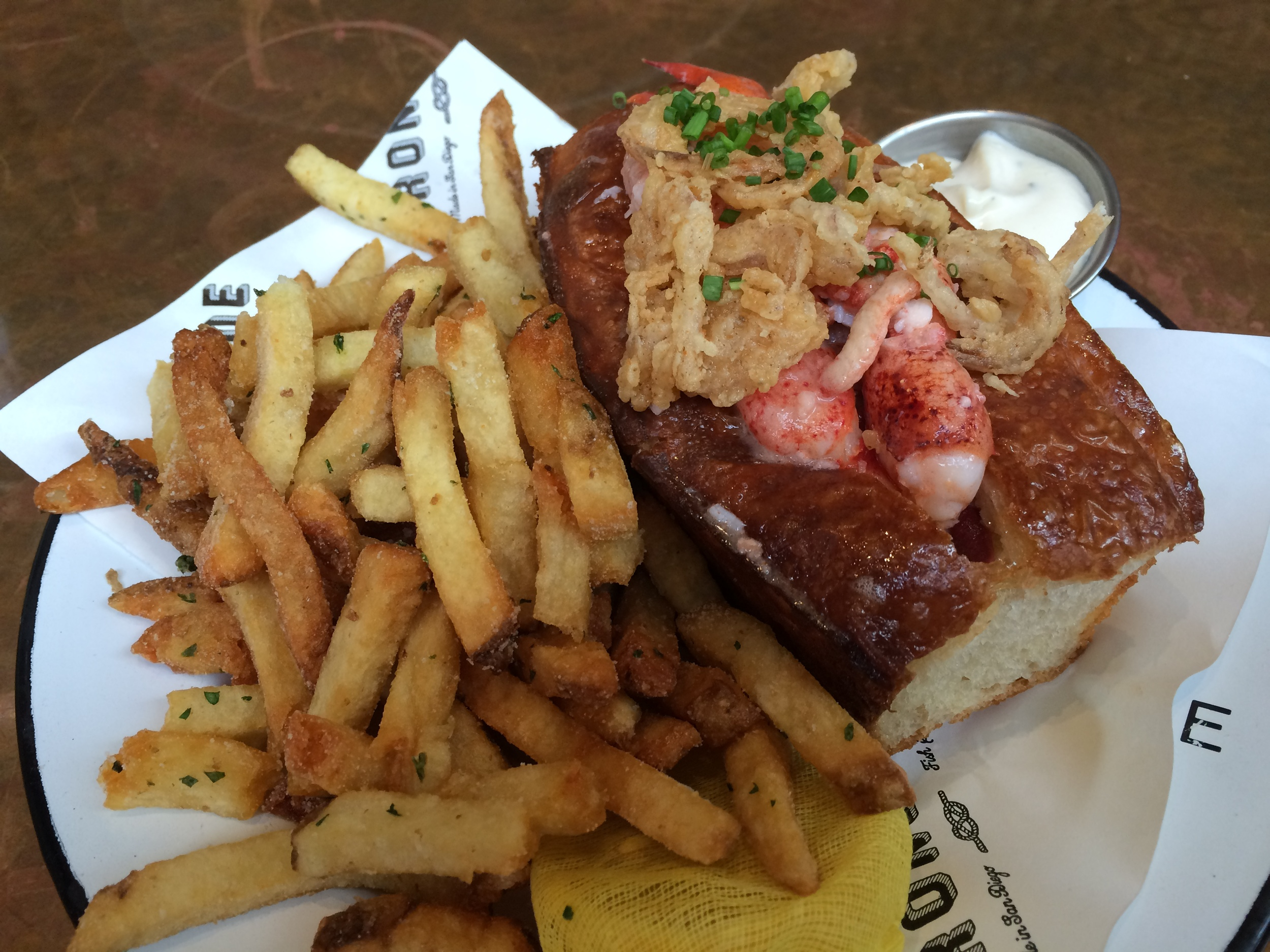 The Ironside Lobster Roll