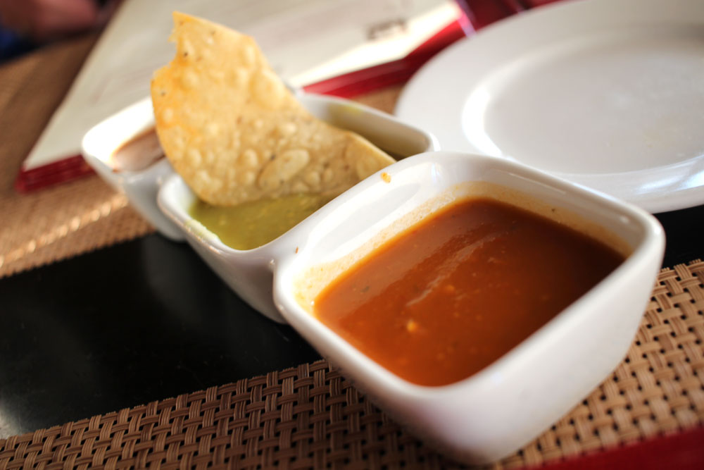 Super delicious chips and salsa (El Agave Old Town San Diego).