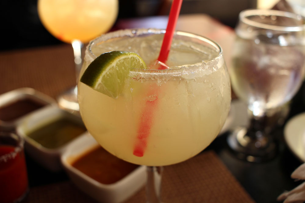 The El Agave house margarita - on the rocks with salt, of course.
