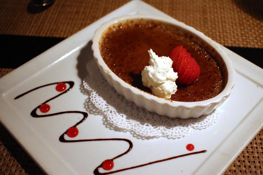 Dessert at El Agave in Old Town San Diego.