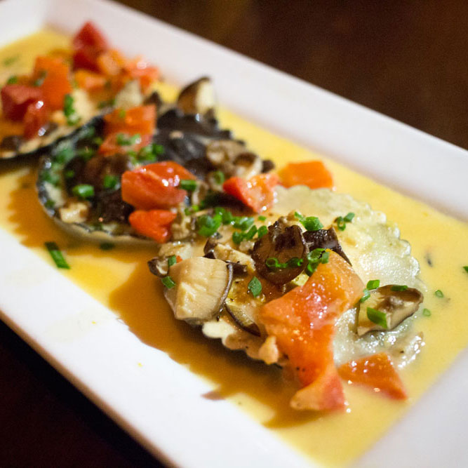 Copy of Lobster ravioli at Seasons 52 San Diego