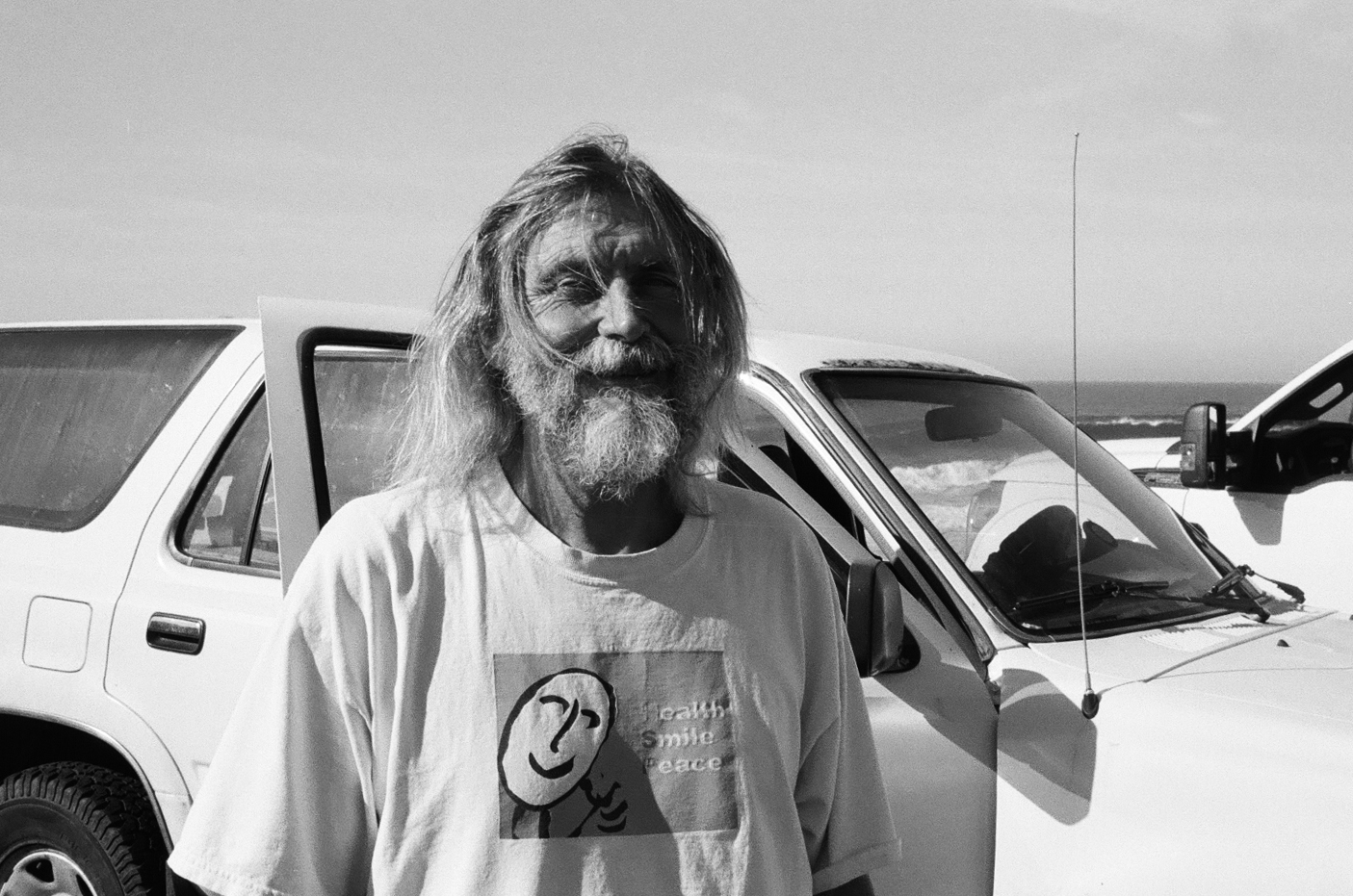 Super cool dude who lives in his car. If you see him tell him hello.
