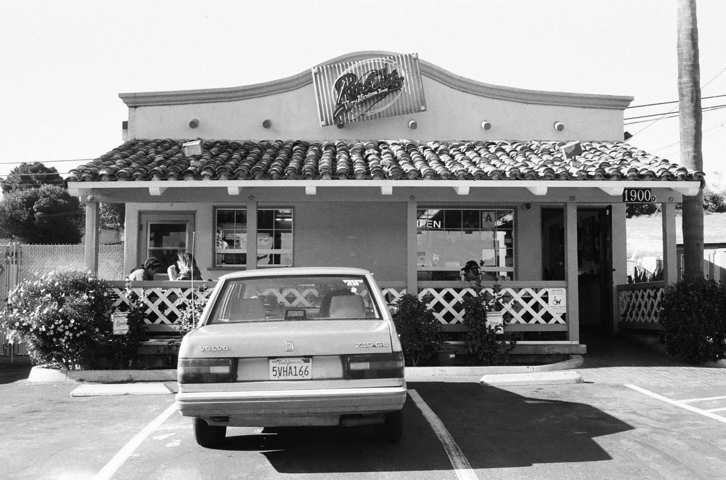 Had to stop for a California Burrito.