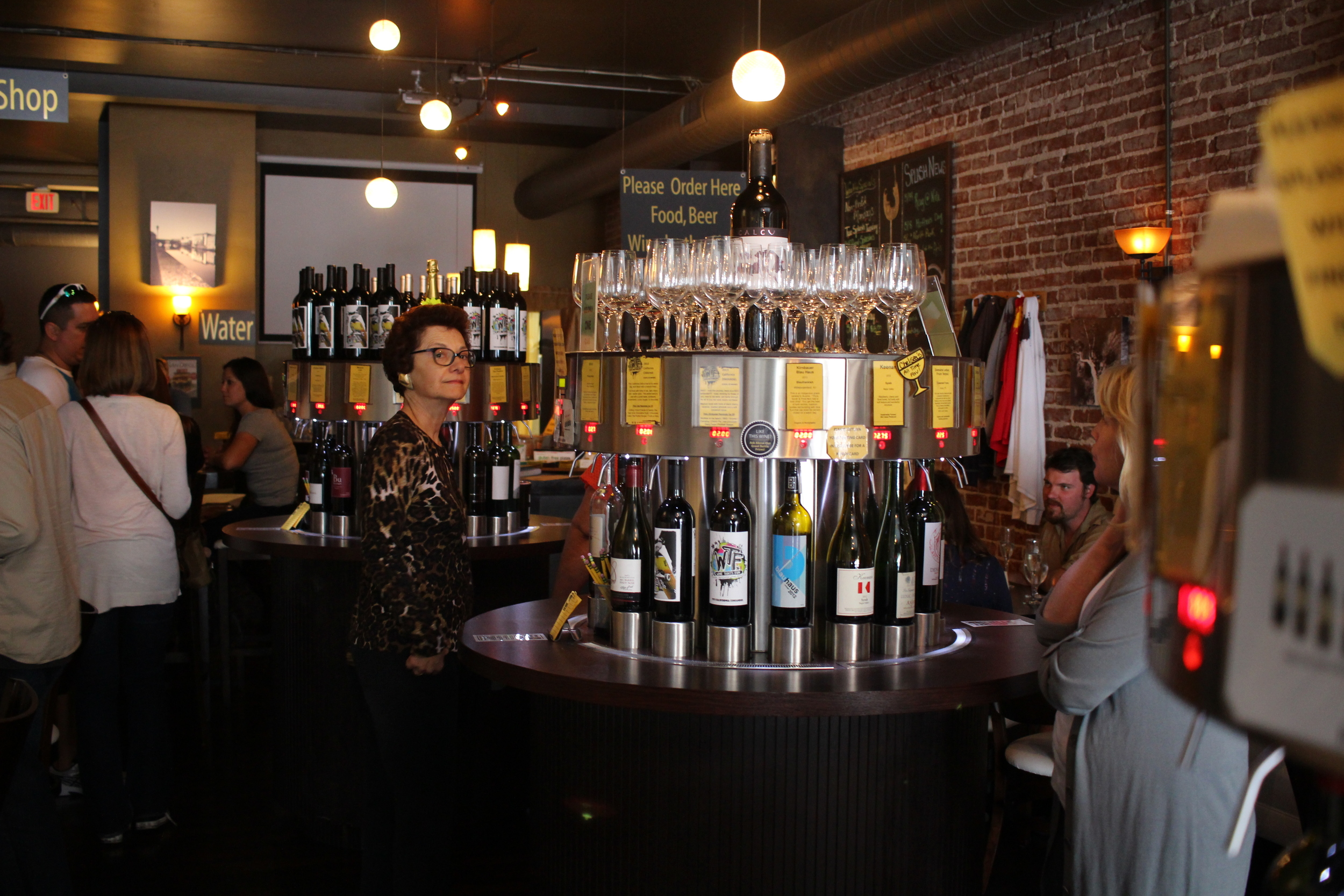 Sample some wine at Splash Wine Lounge