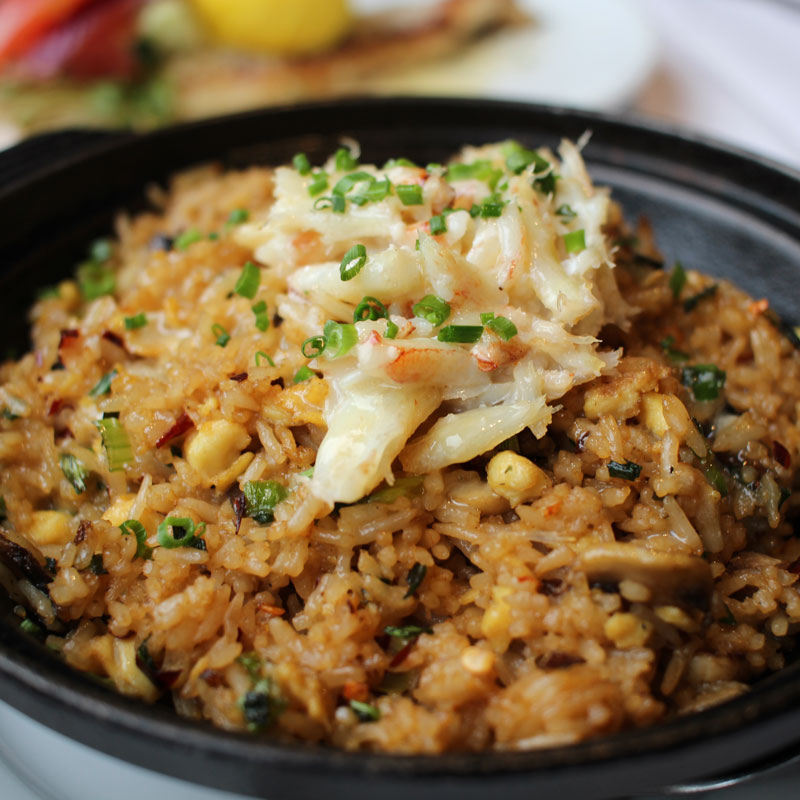 Eddie V's La Jolla fried rice