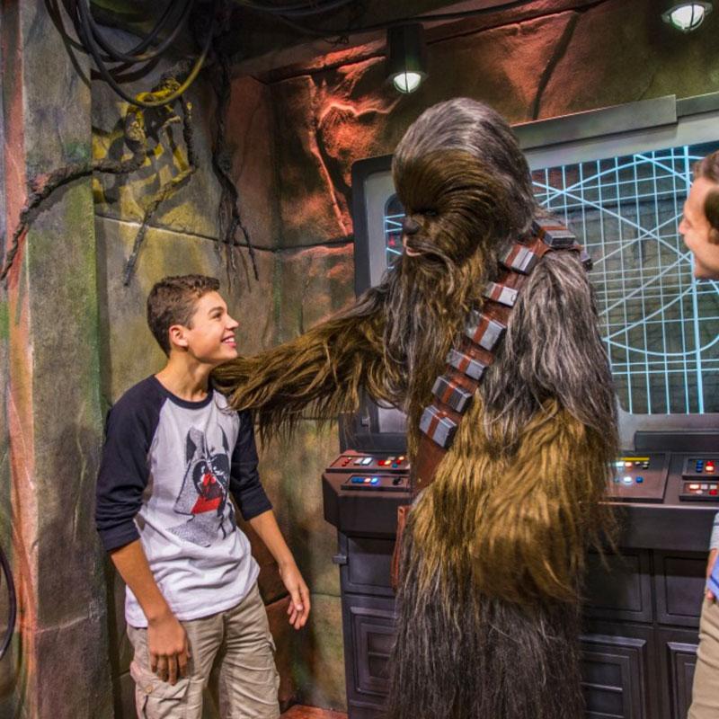 Star Wars now open at Disneyland
