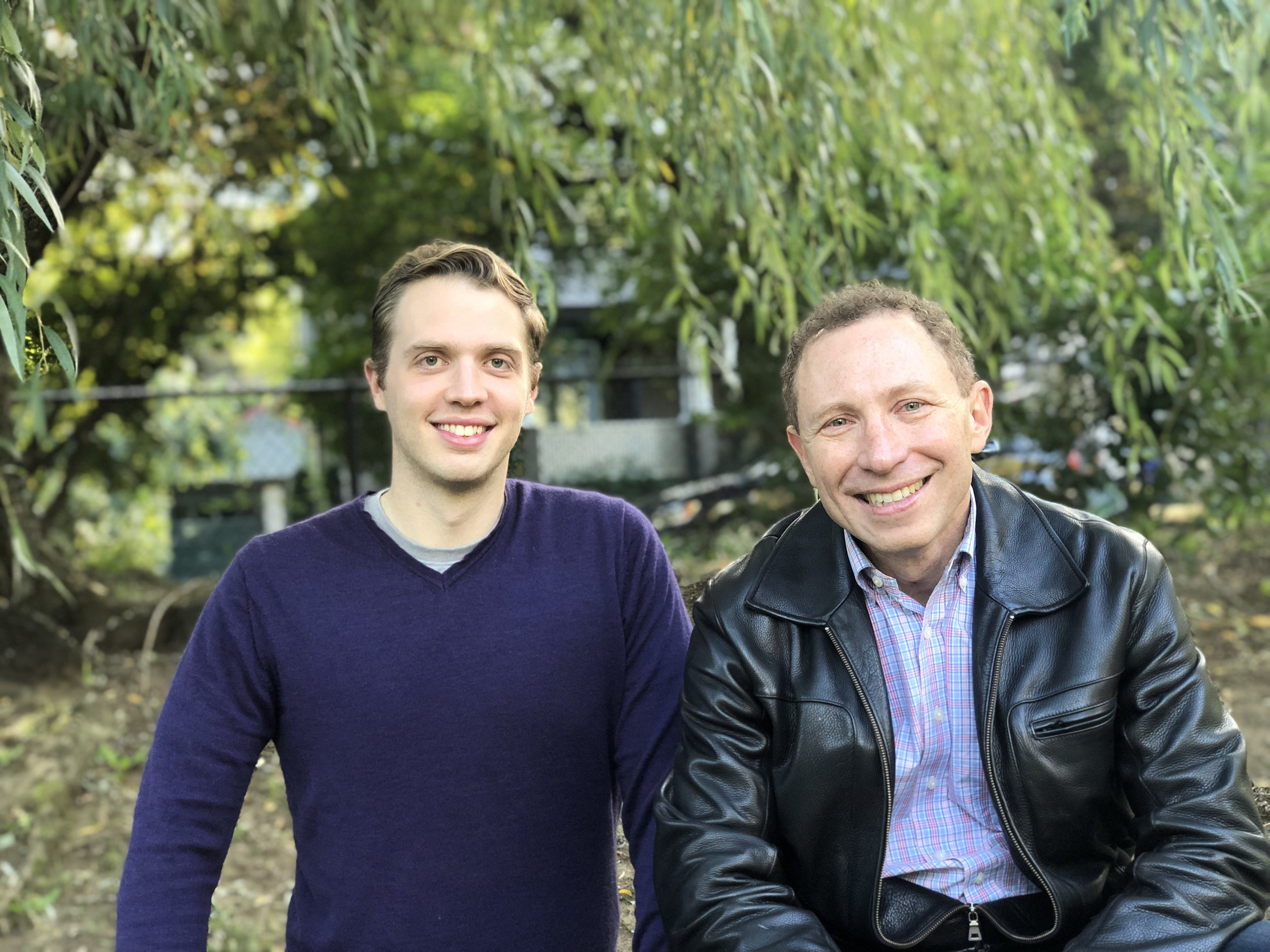 Ryan Stelzer & David Brendel MD PhD,  Co-founders