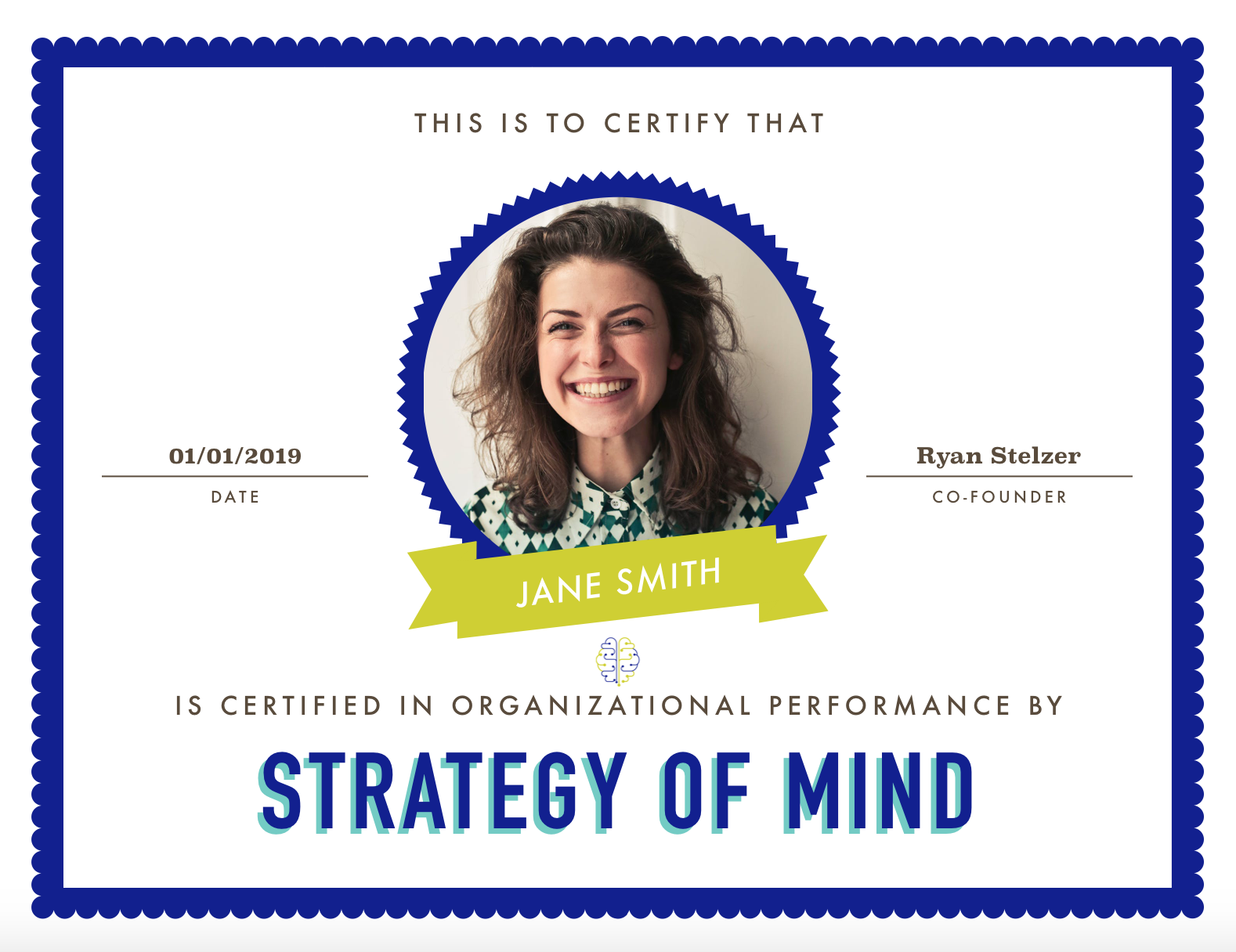 Strategy of Mind Certification
