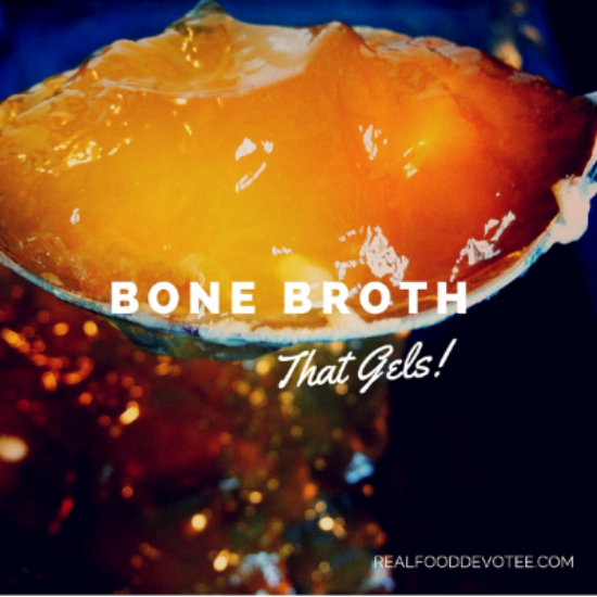 Bone Broth That Gels