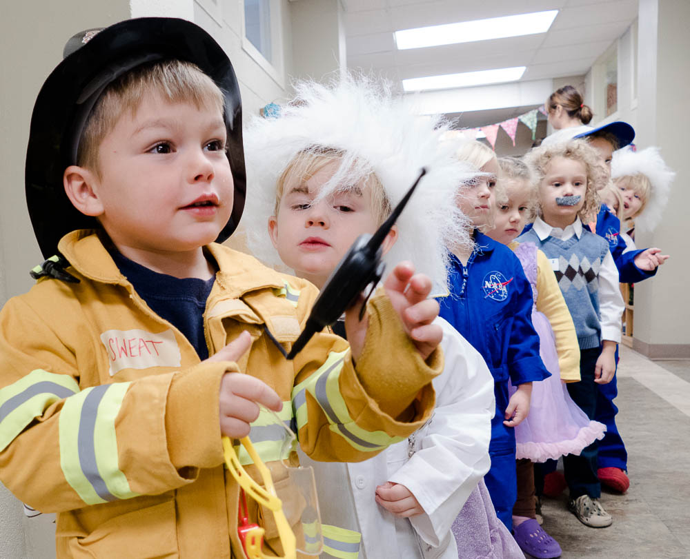 """This year's theme was """"Explorers, Scientists, and Inventors."""""""