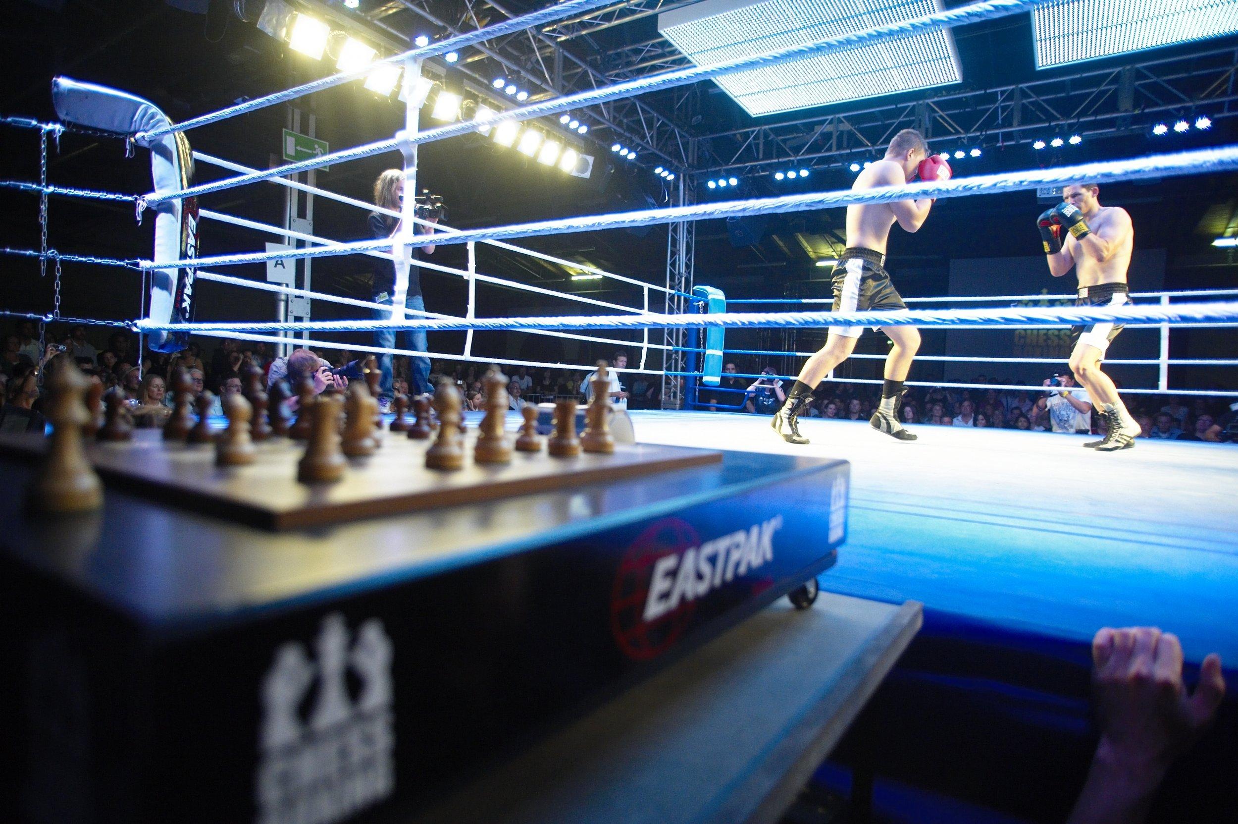 5b38b6914 Chess boxing, people. — Matthew Dicks