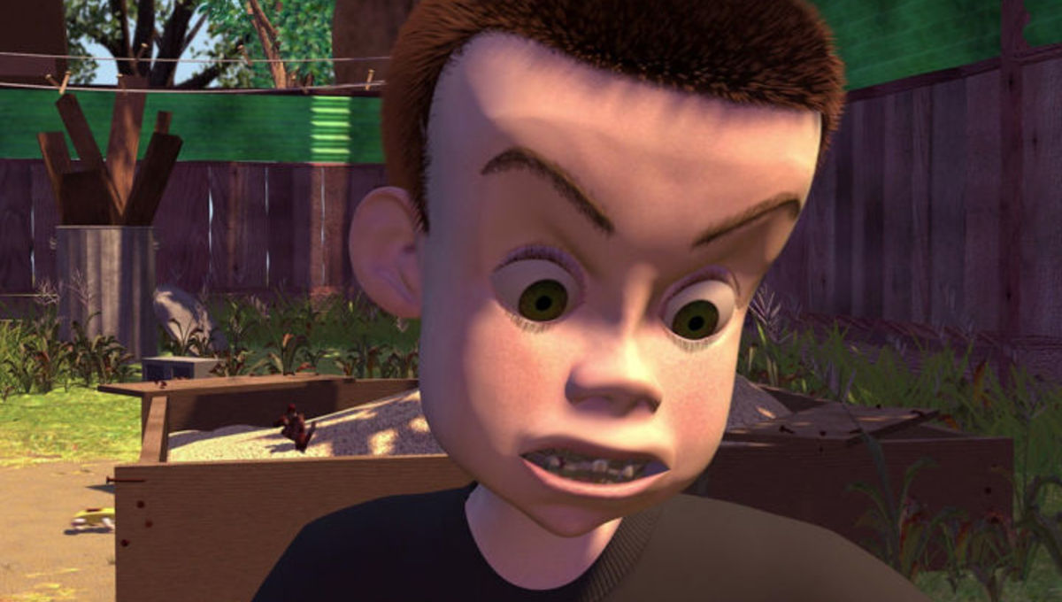 Sid from Toy Story was a completely normal person  — Matthew Dicks