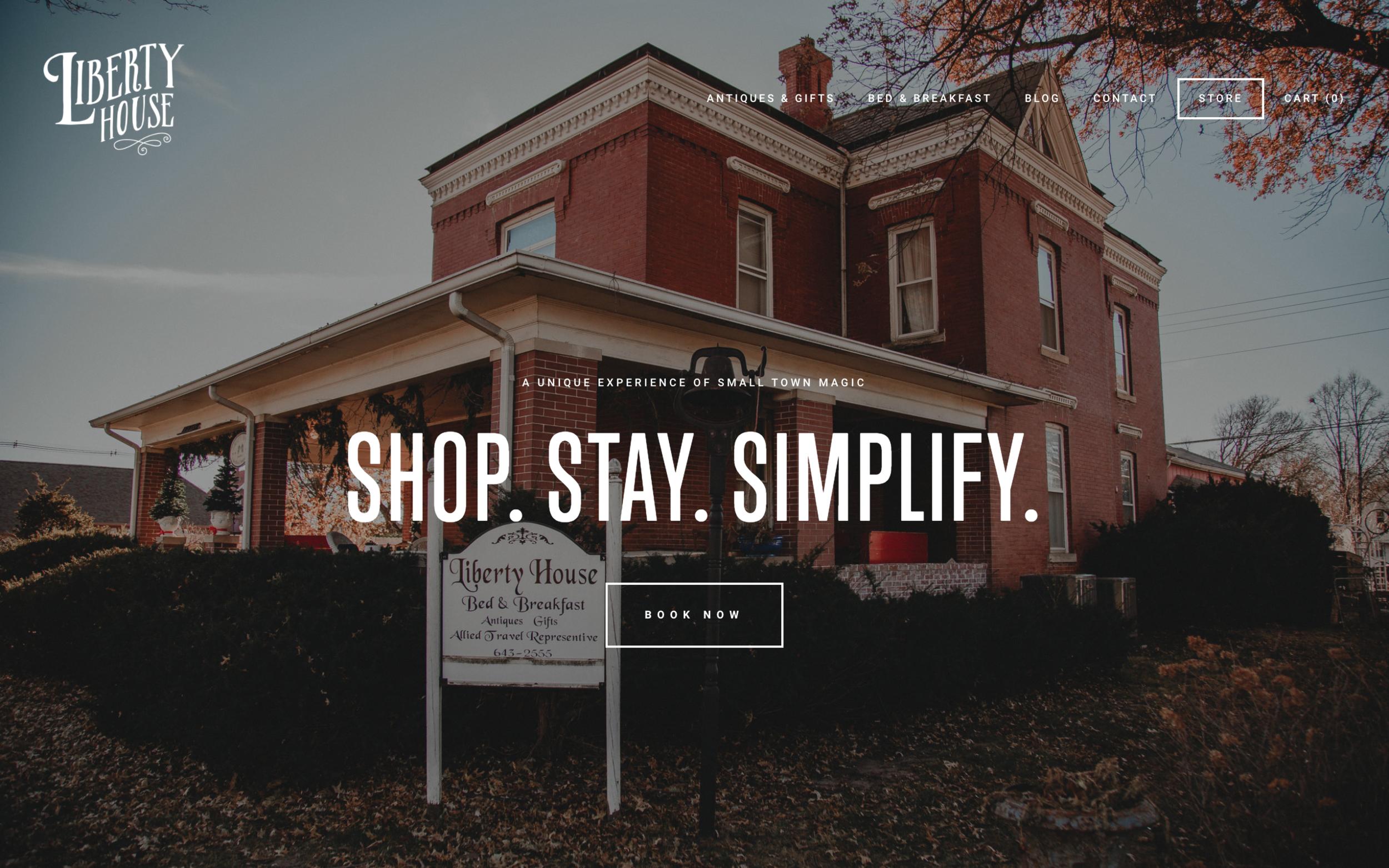 Liberty House Website