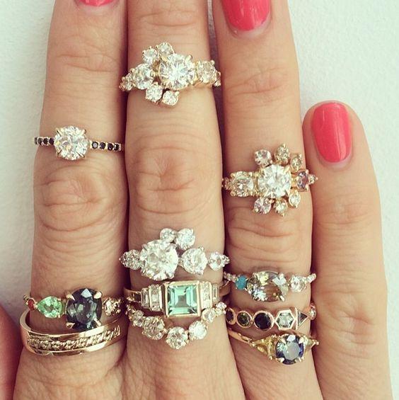 Asymmetrical Rings