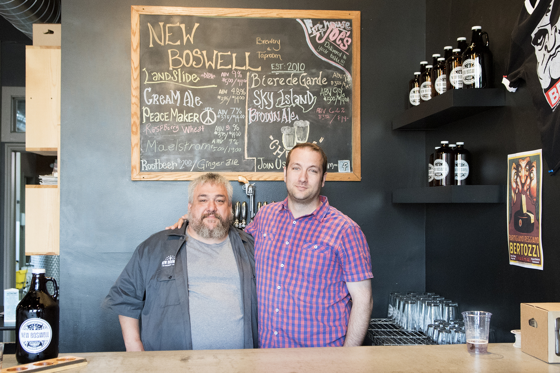 Shawn Davis and Rod Landess, New Boswell Brewing Company