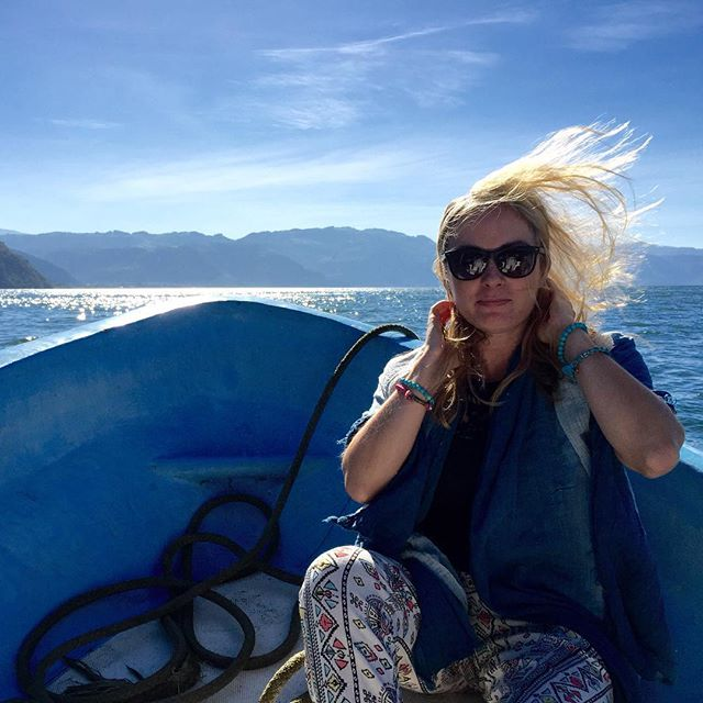 Lake Atitlan with Thread Caravan