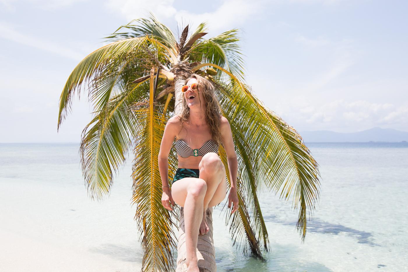 Thread Caravan Brianna George on Palm Tree