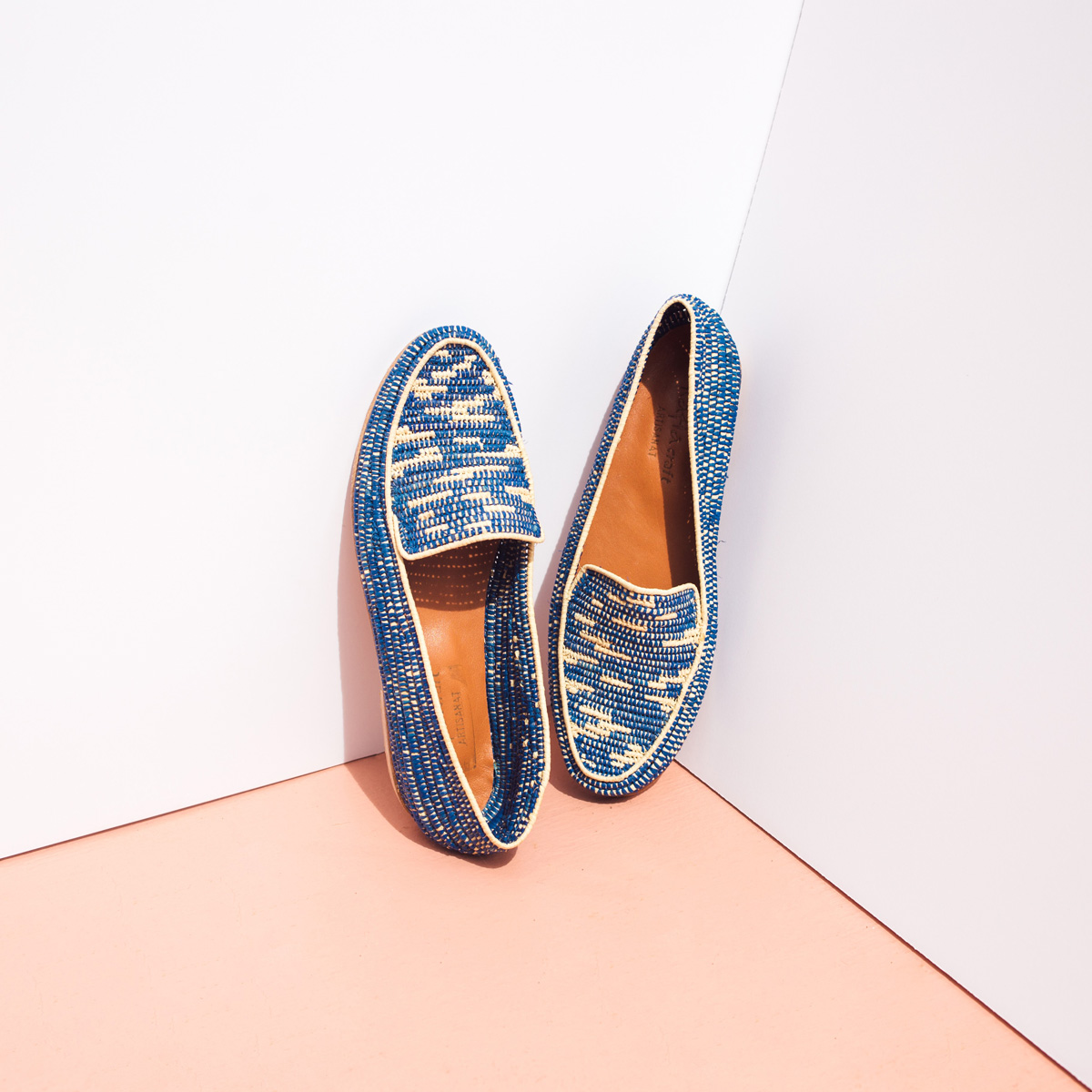 Proud Mary Global Textiles Blue Loafer.jpg