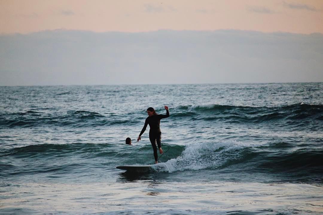 eliza sloane surfing san diego