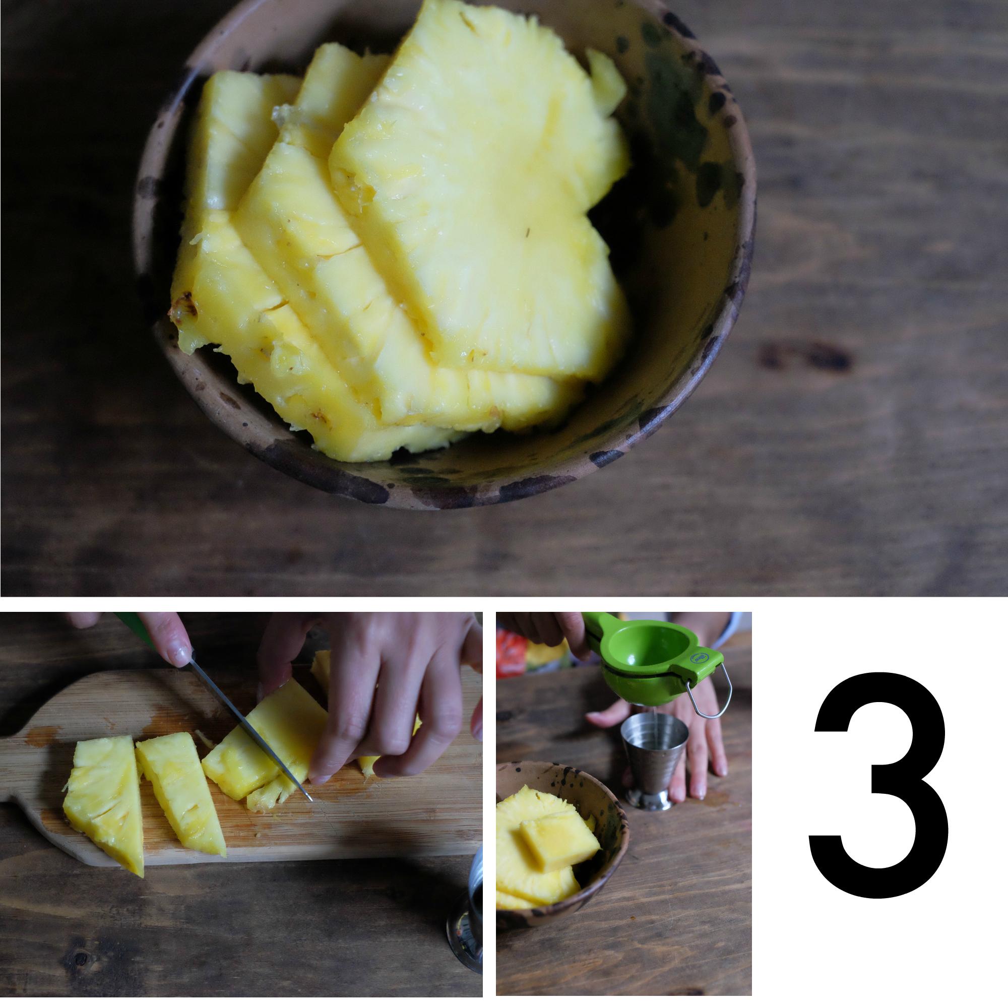 pineapple cocktail ingredients