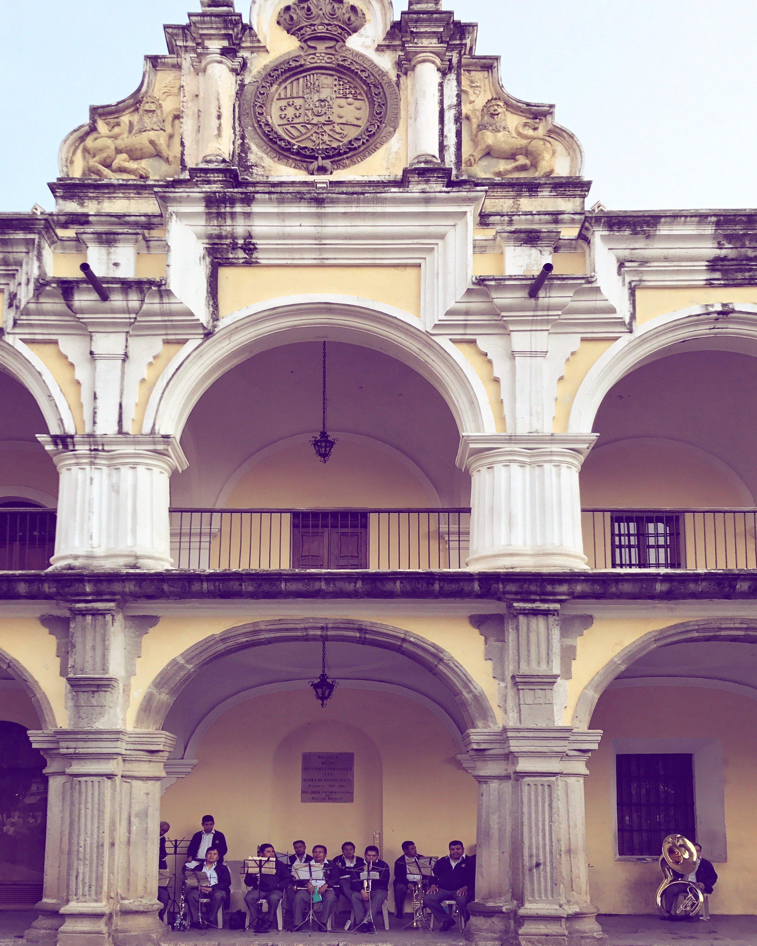 Antigua Guatemala downtown building by Luna Zorro Thread Caravan.jpg