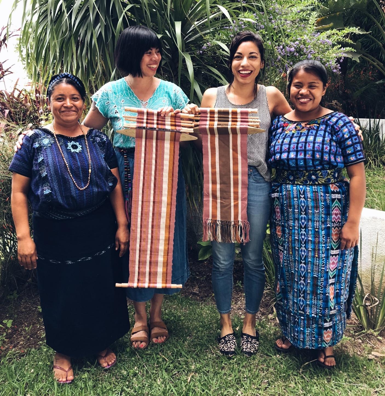 Camille robles and Natalia valle thread caravan backstrap weaving guatemala