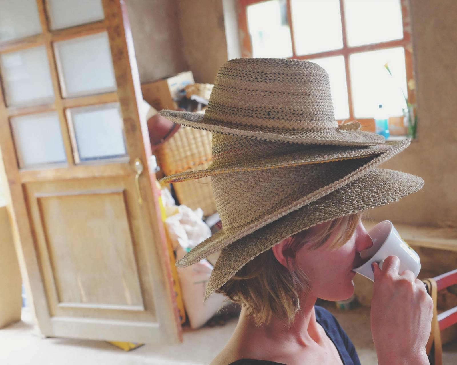 shannon hill Magda made Colombian hats