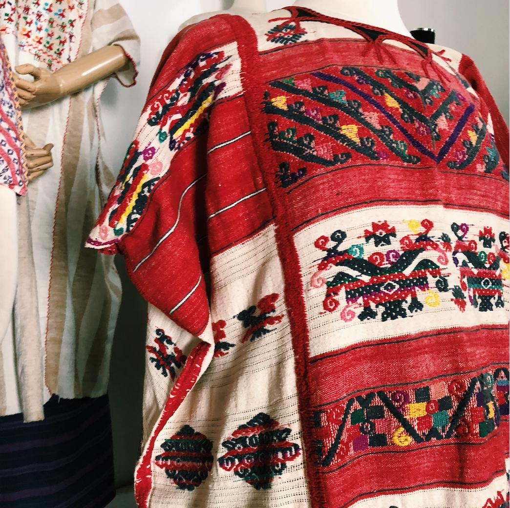 Oaxacan embroidered huipil Thread Caravan