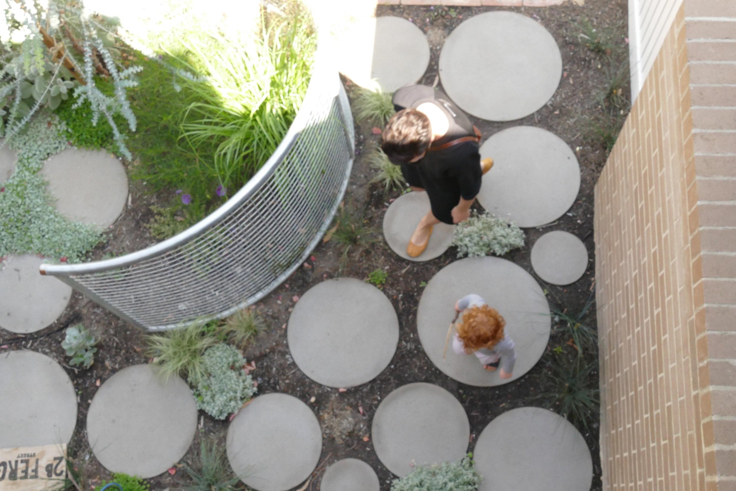 Garden in collaboration with Amanda Oliver  Photo Mauro Baracco