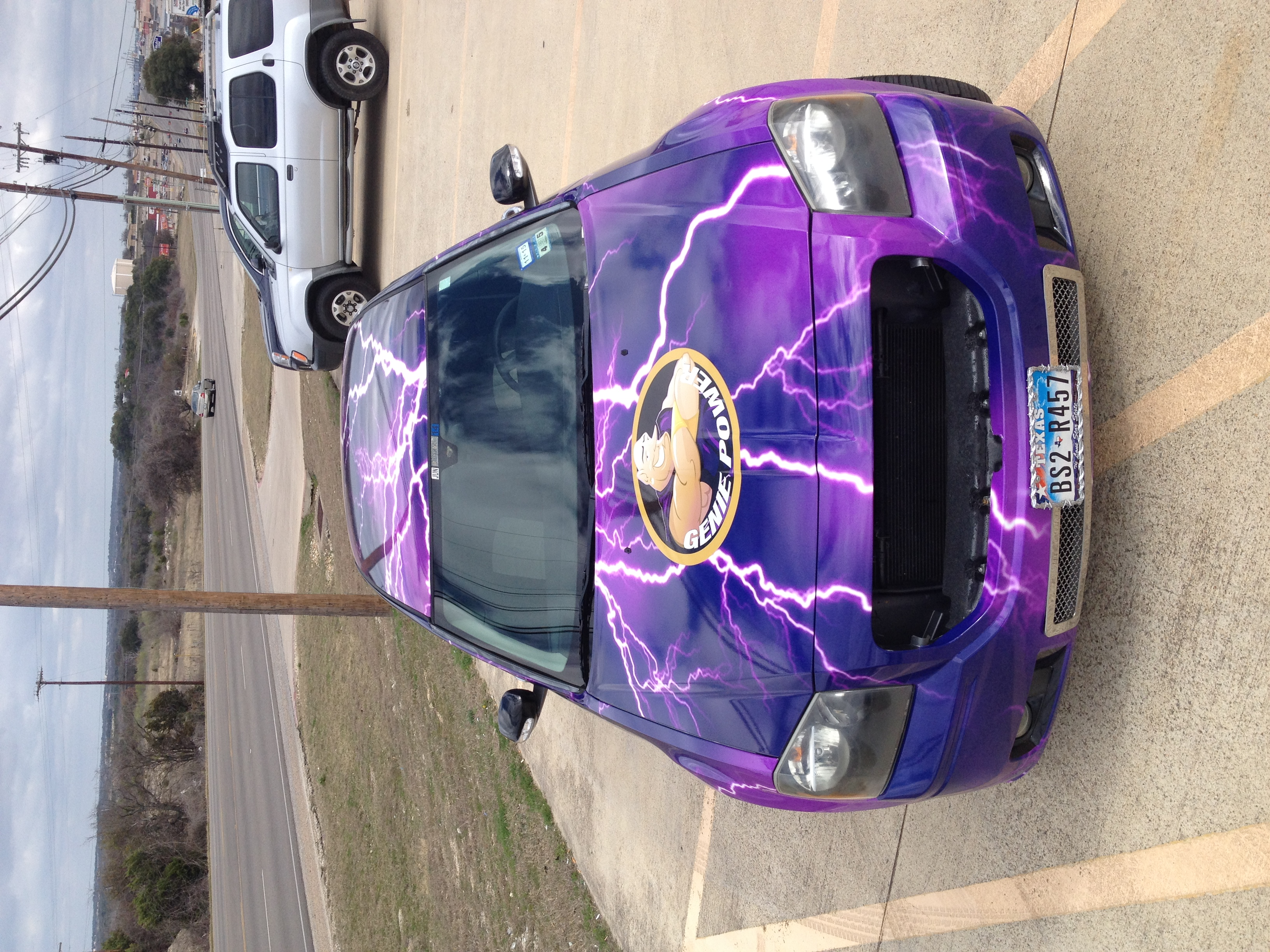 Dodge Magnum - Full Wrap (front view)