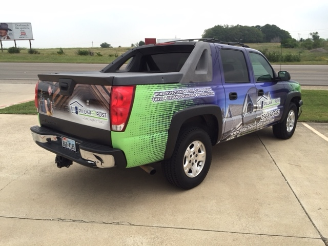 Avalanche - Full Wrap (side view)