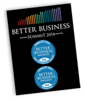 Finalist in the 2014 Better Business Awards