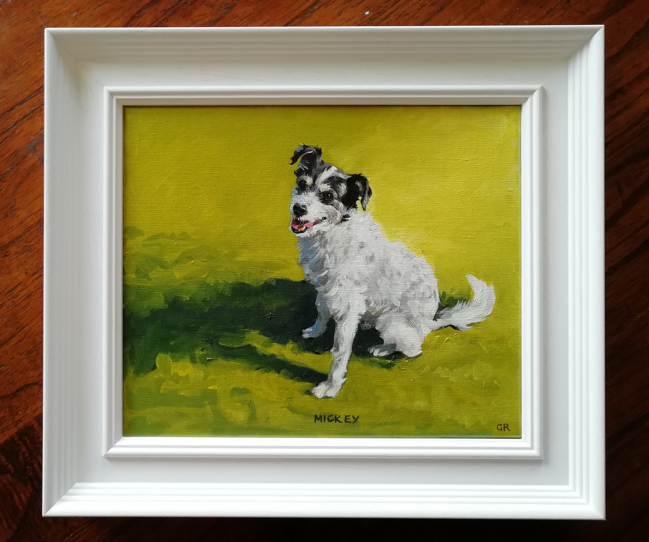 Oil portraits domestic animals