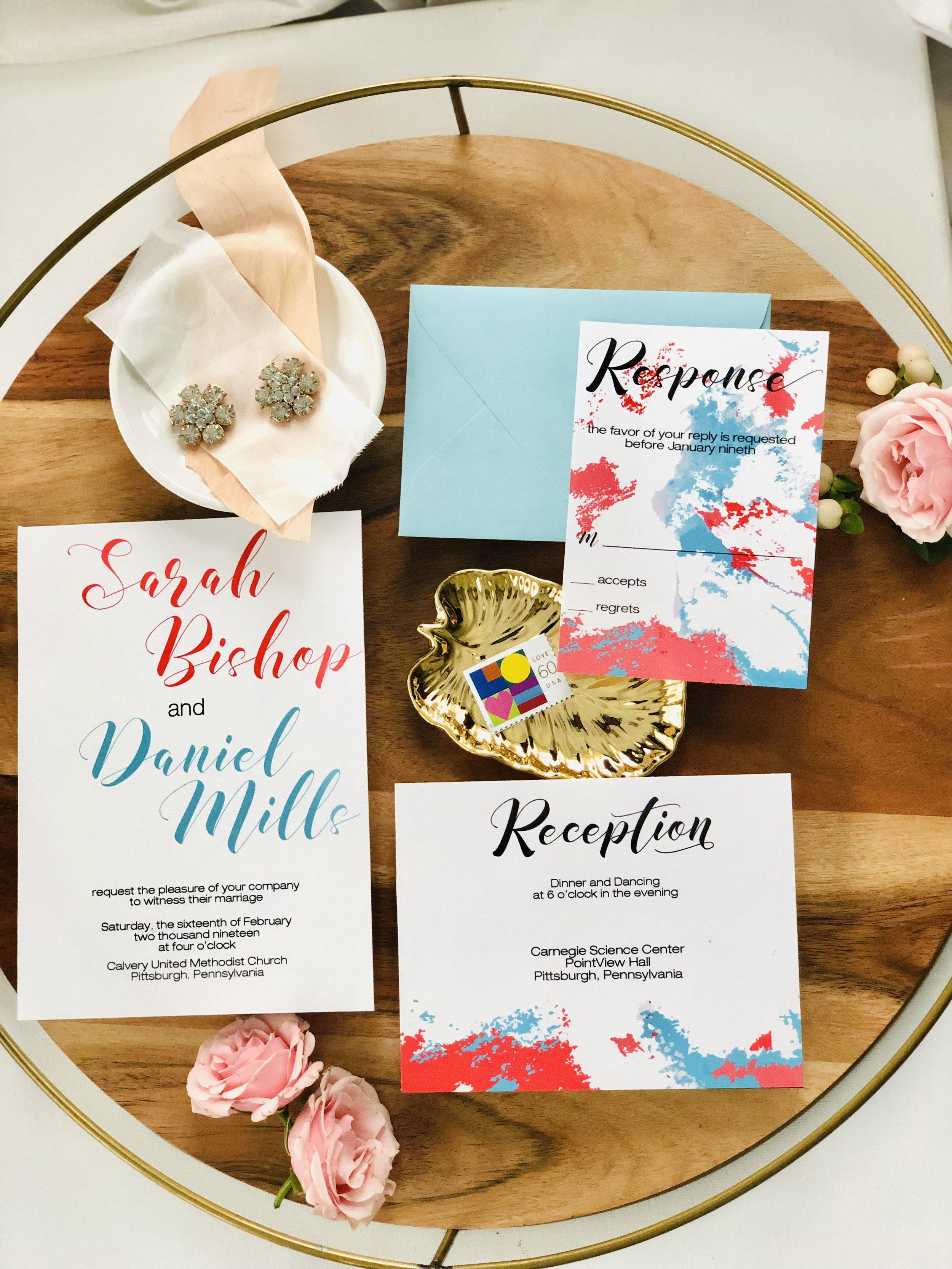 Coral-and-Sea-Blue-Watercolor-Wedding-Invitation