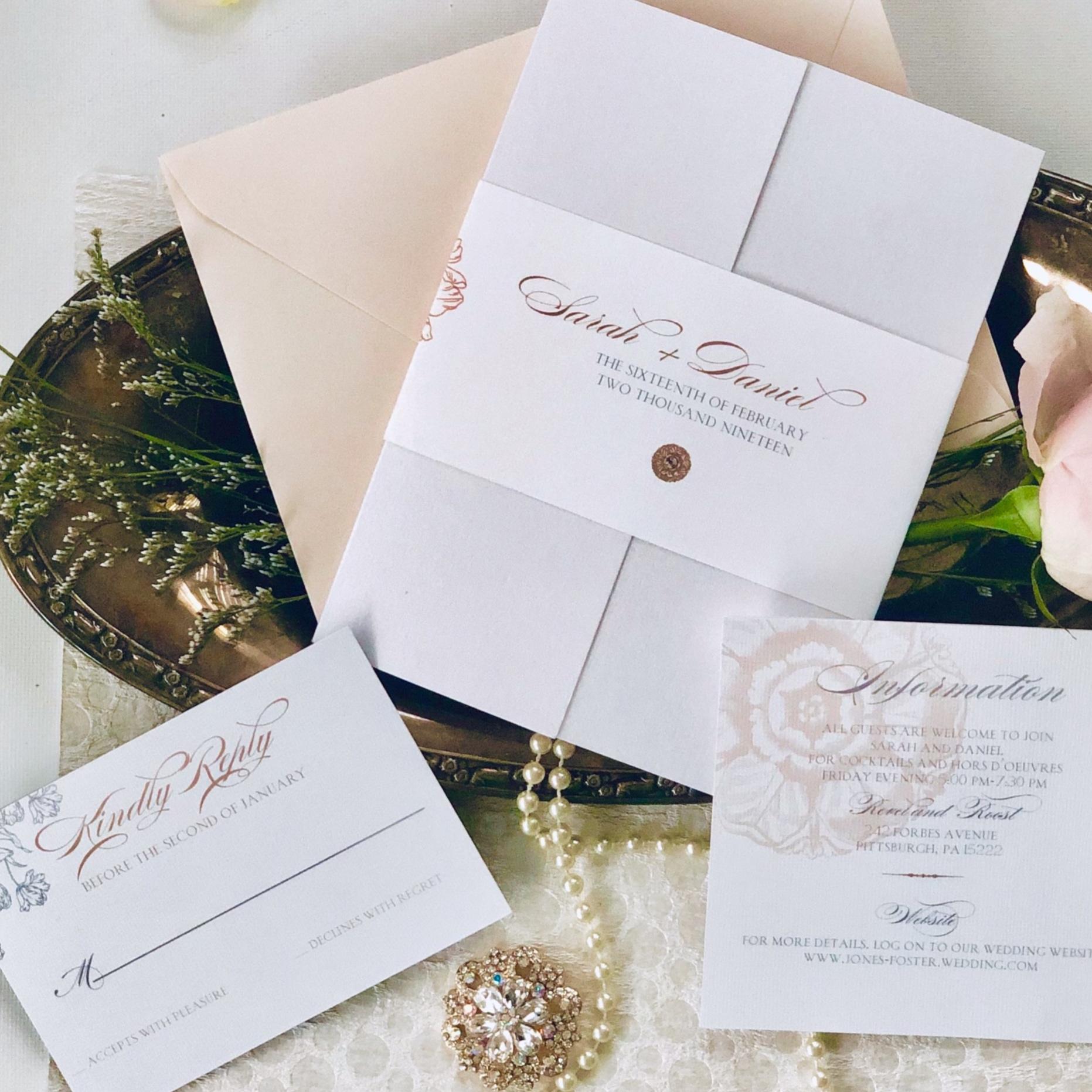 rose-gold-floral-pocket-invitation-by-k-flowers-designs