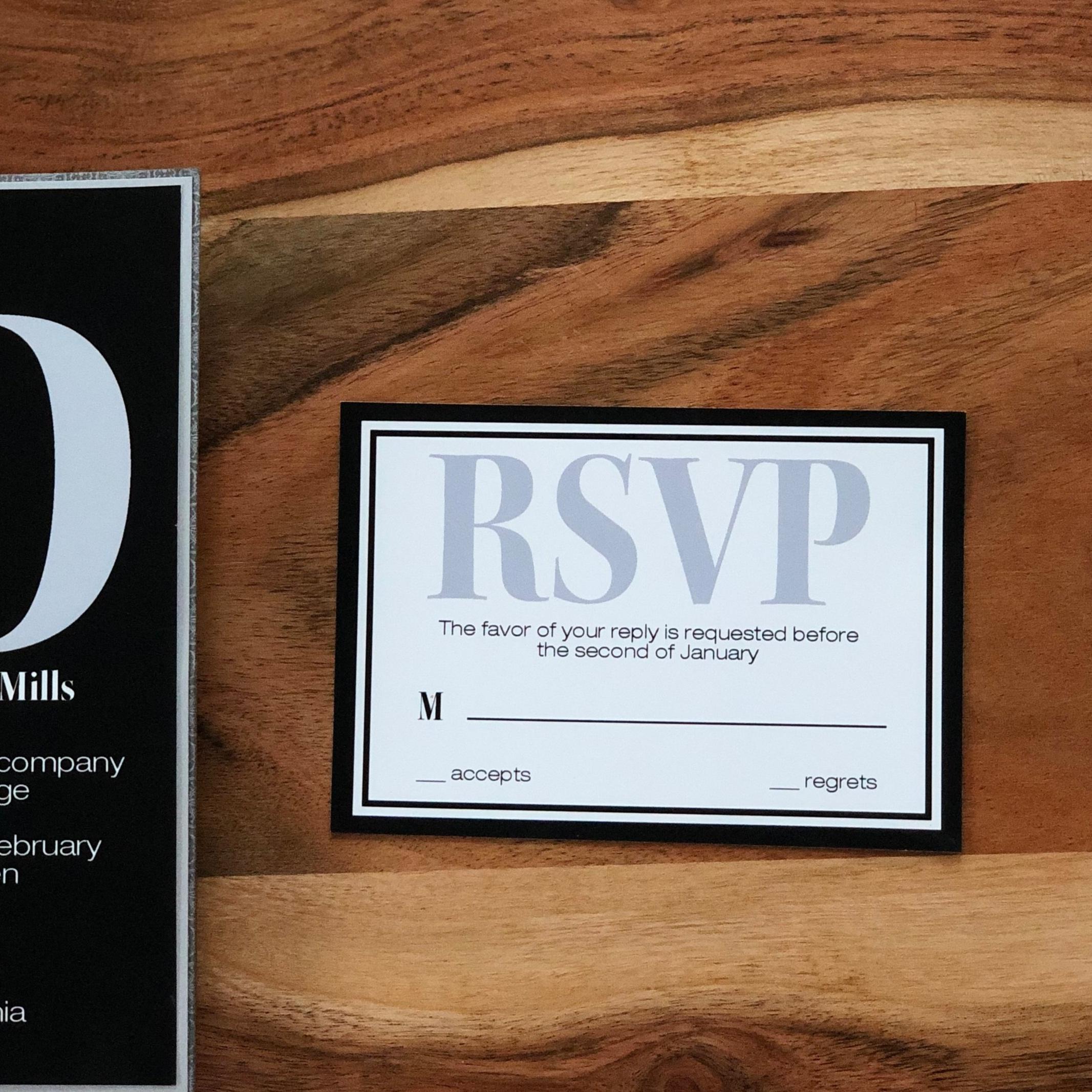 Modern-Bold-Black-Wedding-Invitation-by-K-Flowers-Designs4