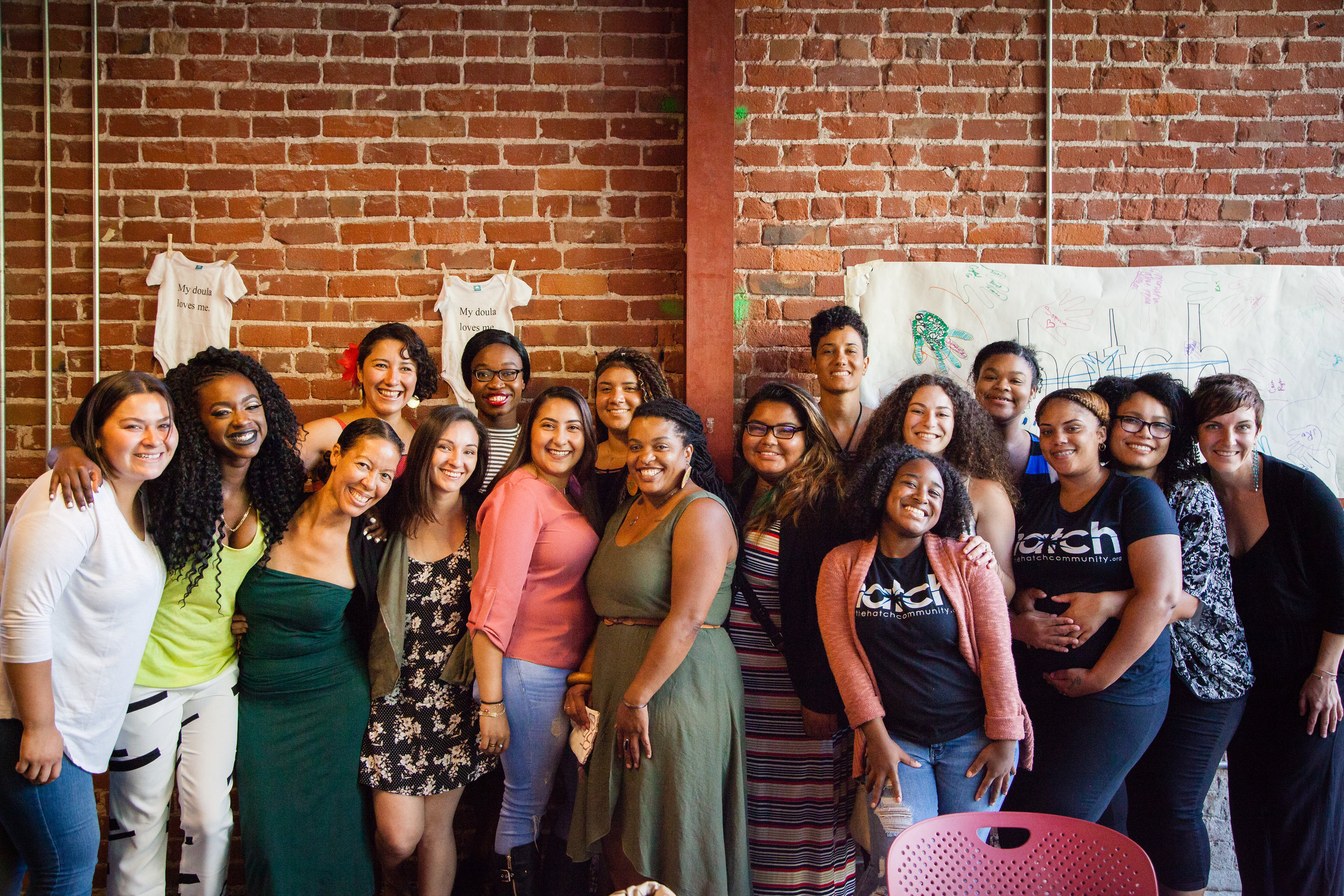 Congratulations to Hatch's 2nd year of doula graduates with their completion of the 2016-2017 Birth & Postpartum Program and celebration in June!