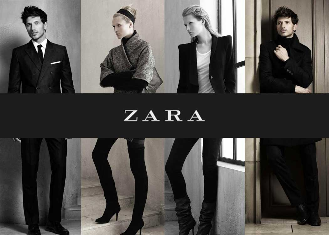 Zara gift vouchers